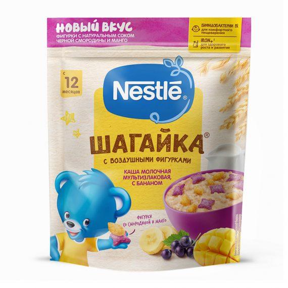 Каша Nestle молочная Шагайка