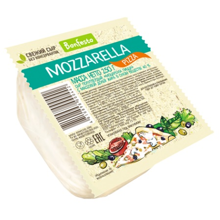 Сыр полутвердый Моцарелла Пицца