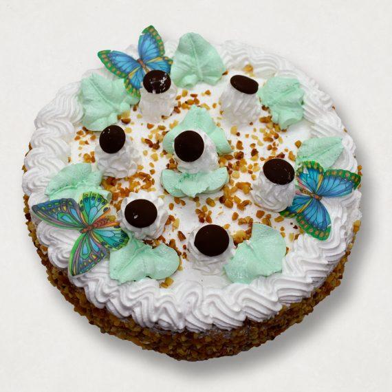 Торт Грибочки с кремом