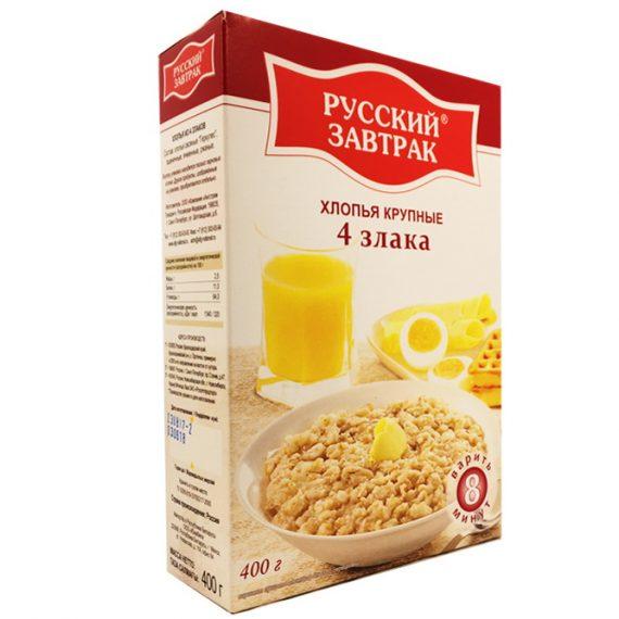 Хлопья Русский завтрак 4 злака