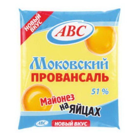 Майонез АВС Московский провансаль