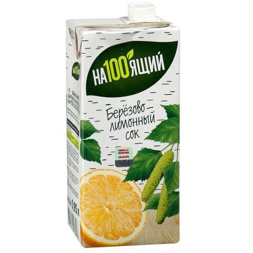 Сок На100ящий березово-лимонный
