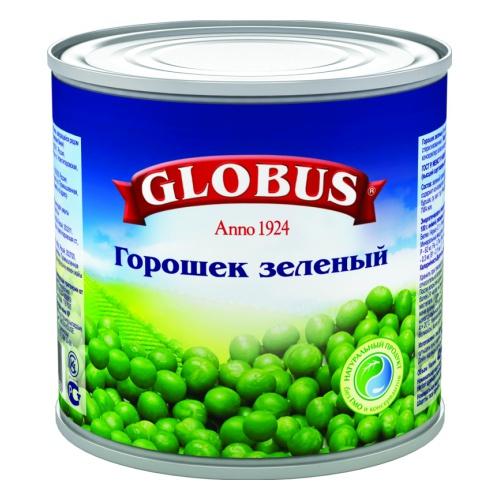 Зелёный горошек Globus нежный